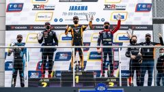 TCR Europe 2020: il podio finale nell'appuntamento di Jarama