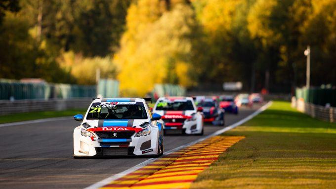TCR Europe 2020: la 308 TCR a Spa Francorchamps