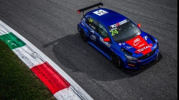 TCR Europe 2020, Monza: Julien Briché con la Peugeot 308 TCR