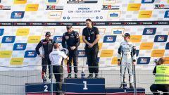 TCR Europe 2020, Monza: Julien Briché (Peugeot 308 TCR) festeggia sul gradino più alto del podio