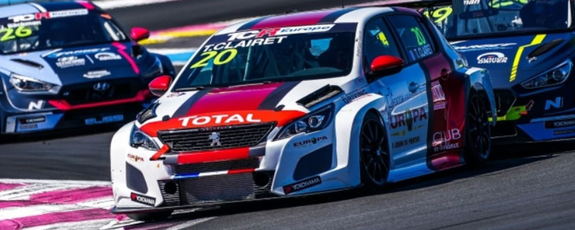 TCR Europe 2020: Teddy Clairet (Peugeot)