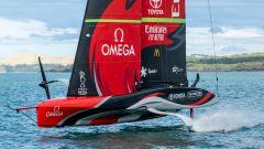 Te Rehutai. Copyright: Emirates Team New Zealand