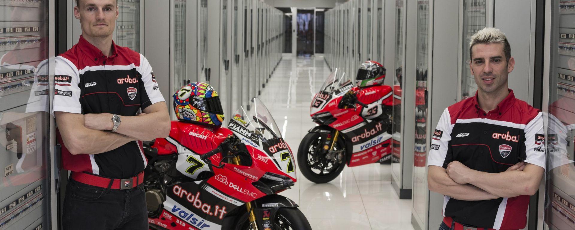 SBK 2017: Presentazione Aruba.it Racing Ducati Superbike team
