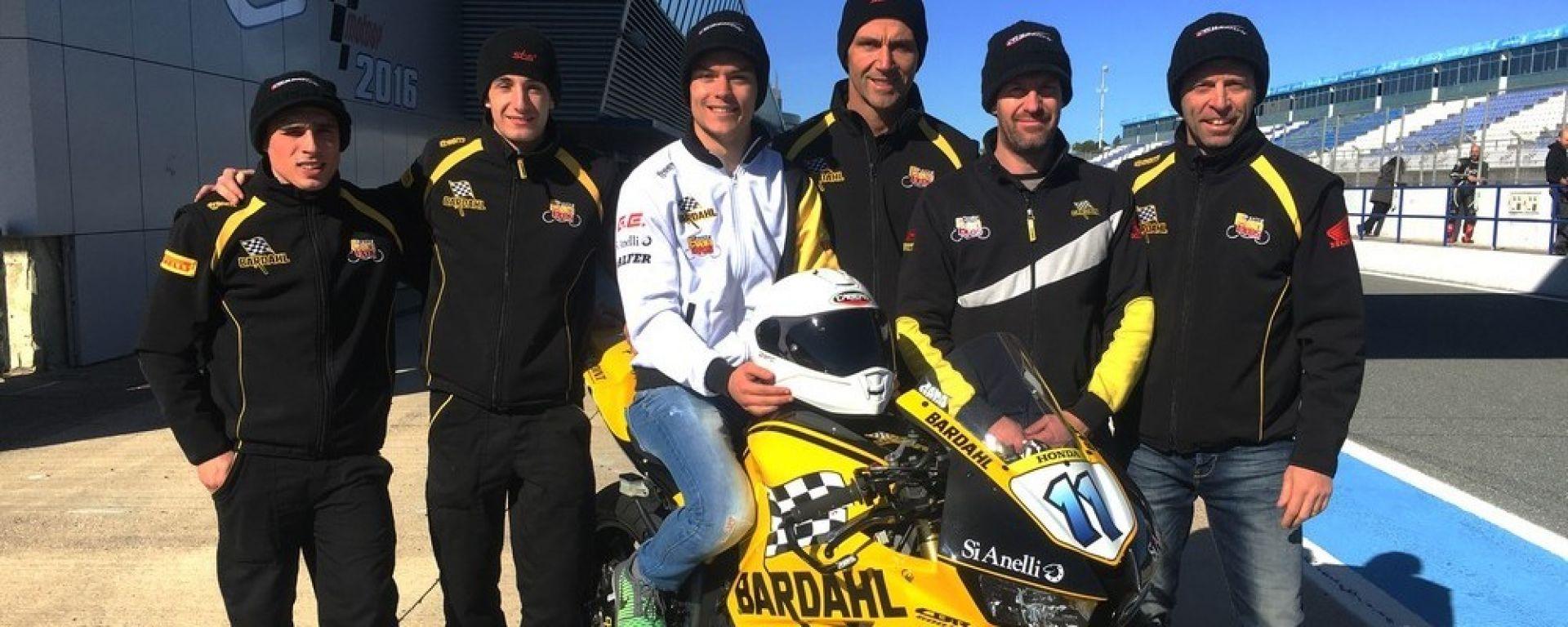 Team Bardahl ai test (Jerez)