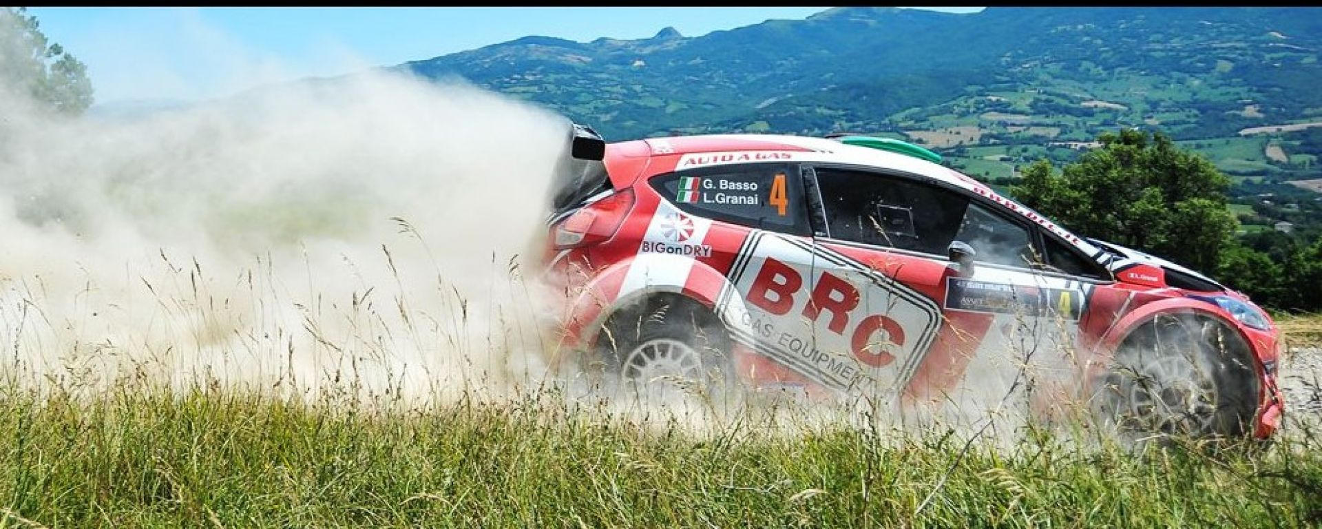 Team BRC Rally San Marino 2016