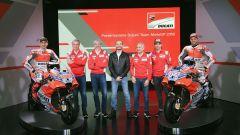 MotoGP 2018: presentata la nuova Ducati Desmosedici GP18 che guideranno Jorge Lorenzo, Andrea Dovizioso e Casey Stoner