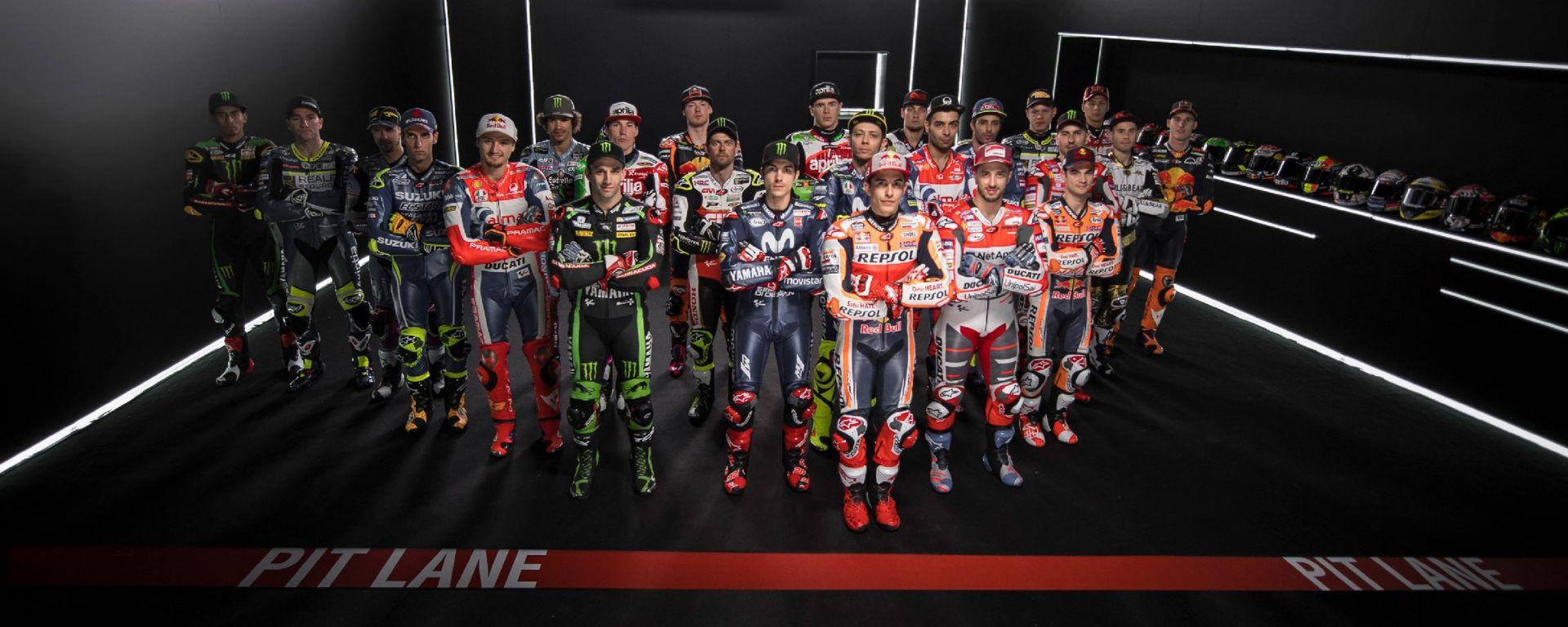 Team e piloti Motogp 2018: la lista completa