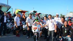 Team Gresini Moto 3 e HIRP insieme