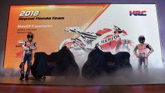 Team Honda Repsol 2018, la RC213V sotto i teli