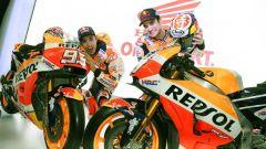 Team Honda Repsol 2018, Marquez e Pedrosa