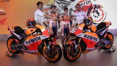 Team Honda Repsol 2018, presentazione