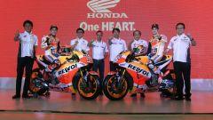 Team Honda Repsol 2018, squadra al completo