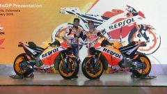 Team Honda Repsol 2018, svelata la RC213V