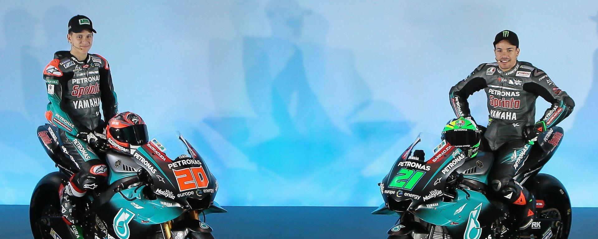 Team Petronas SRT - Franco Morbidelli e Fabio Quartararo