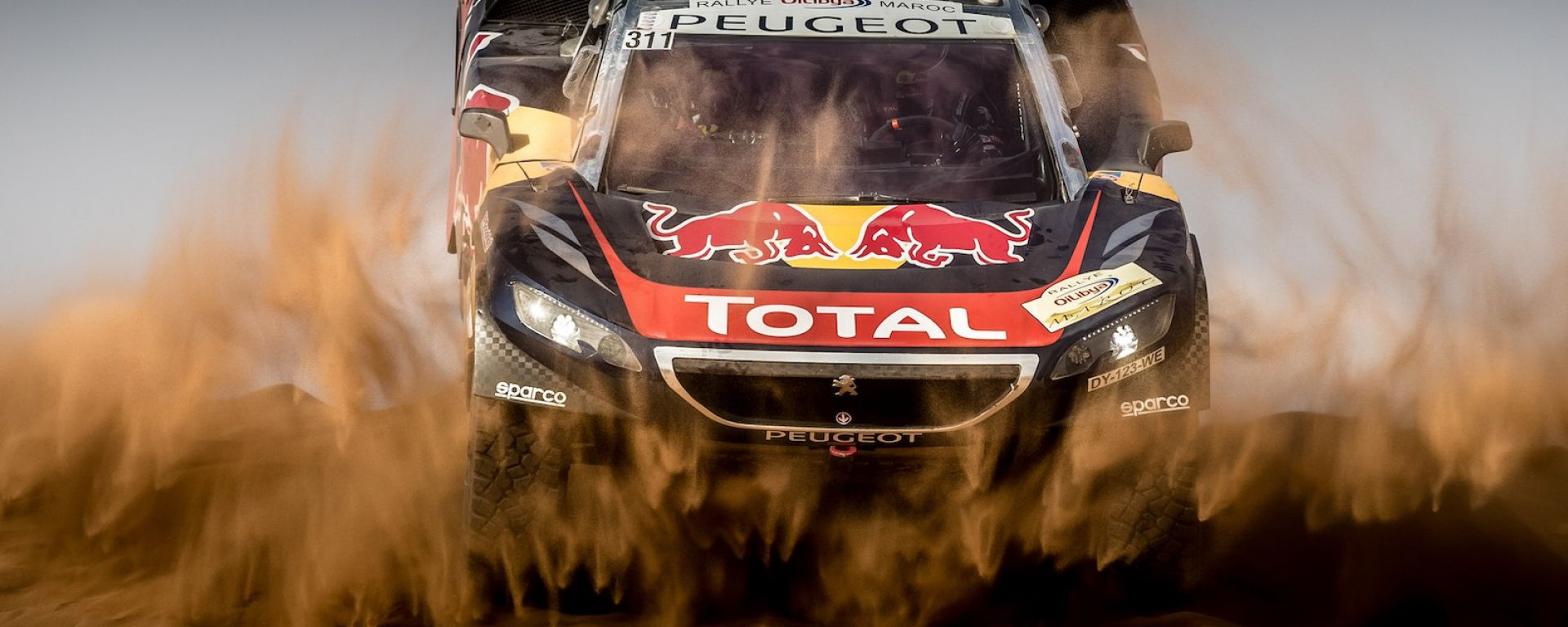 Team Peugeot Total - Rally del Marocco 2016