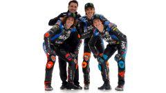 Team Sky Racing VR46 - Marco Bezzecchi, Celestino Vietti e Luca Marini con il managere Pablo Nieto