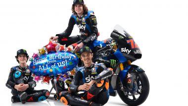 Team Sky Racing VR46 - Marco Bezzecchi, Celestino Vietti e Luca Marini