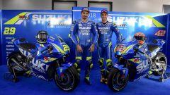 Team Suzuki Ecstar 2018 motogp, andrea iannone e Alex Rins