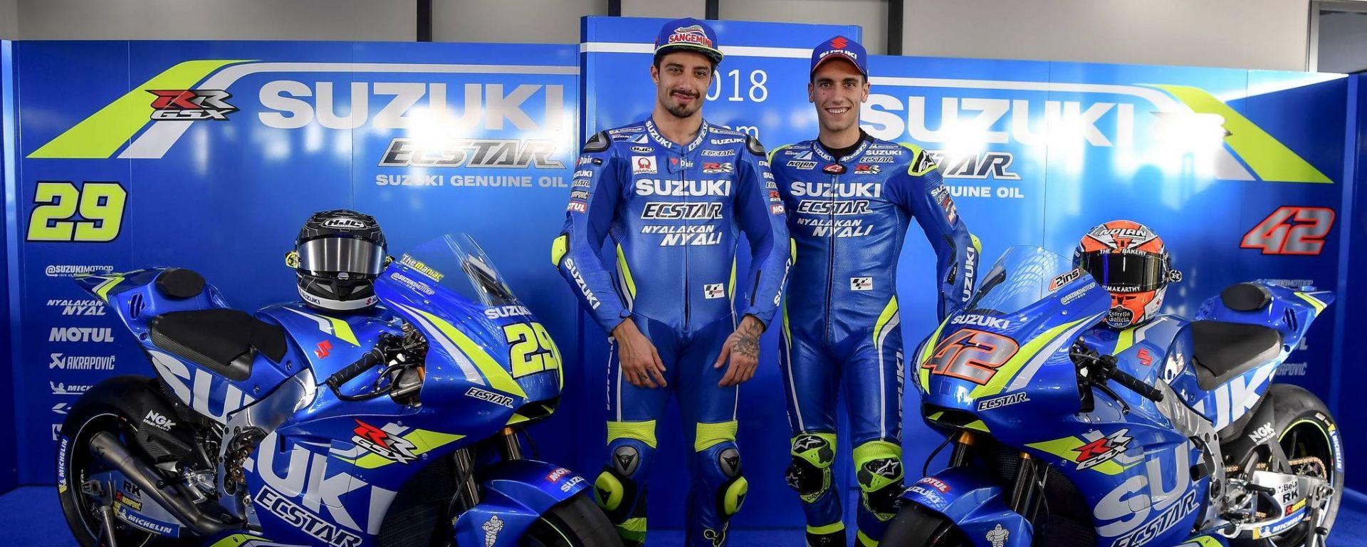Team Suzuki Ecstar 2018