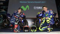 Team Yamaha Movistar, Rossi e Vinales