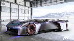 Ford TeamFordzillaP1, auto da corsa virtuale. Arriverà nel 2021