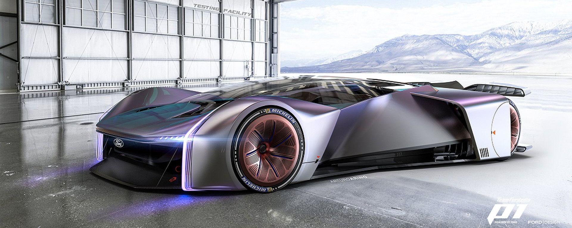 TeamFordzillaP1, l'auto da videogame di Ford