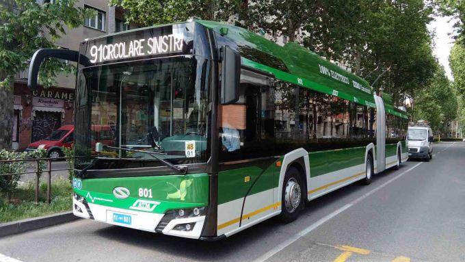 Tech Bus, la sperimentazione di ATM sulla 90/91