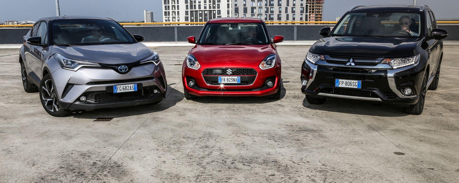 Auto ibride Mild, Full e Plug In: come si guidano?