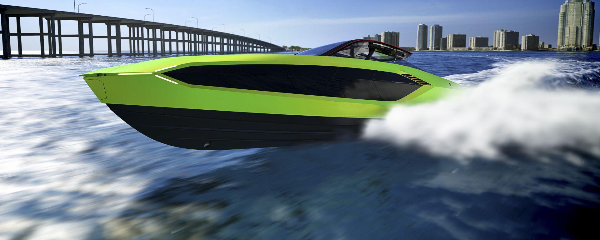 Tecnomar for Lamborghini 63: come una Lamborghini Sian...acquatica