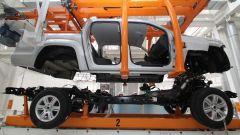 Telaio a longheroni e sospensioni ad assale rigido e balestre su Volkswagen Amarok 2012