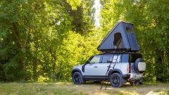 Tenda da tetto Autohome per Land Rover Defender 110: accedervi è facile!