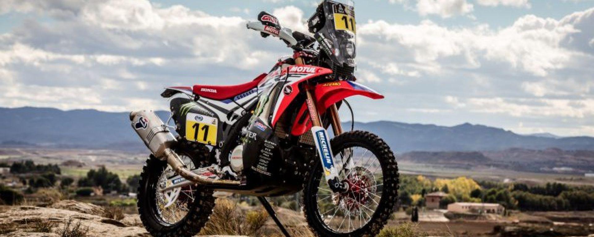 Termignoni firma gli scarichi delle Honda per il Dakar Rally