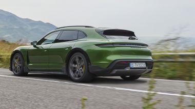 Terza variante Porsche Taycan: primo contatto con la wagon elettrica tedesca