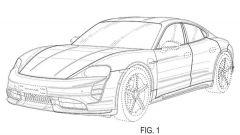 Nuovo modello Porsche Taycan: internet svela i brevetti
