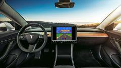 Tesla: aggiornamento software V9.0 con i titoli dei videogiochi Atari
