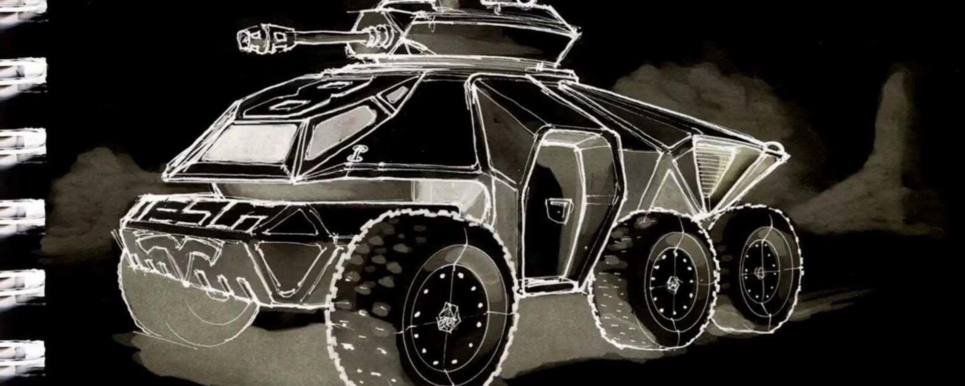 Tesla carro armato, solo immaginazione?