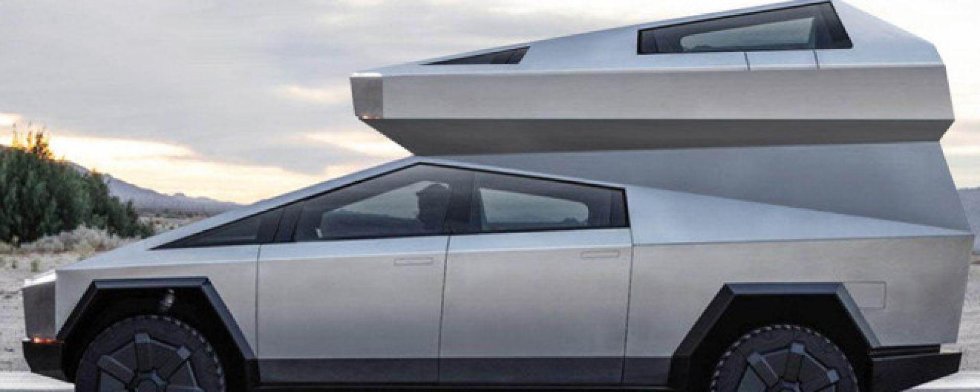 Tesla Cybercamper: il concept elettrico per il campeggio itinerante
