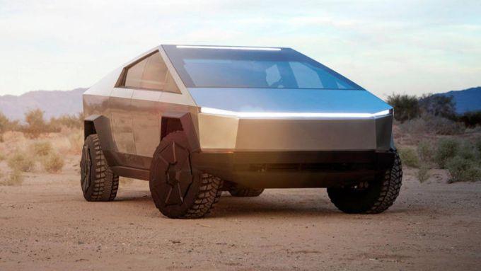 Tesla Cybercamper: il pick-up elettrico nella sua veste originale