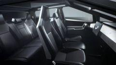 Tesla Cybertruck 2021: l'abitacolo futuristico