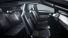 Tesla Cybertruck, gli interni