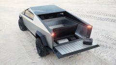 Tesla Cybertruck: il vano posteriore modulabile del pickup elettrico