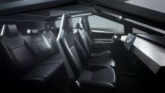 Tesla Cybertruck: l'abitacolo del pickup