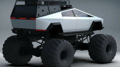Tesla Cybertruck Monster Truck: il rendering