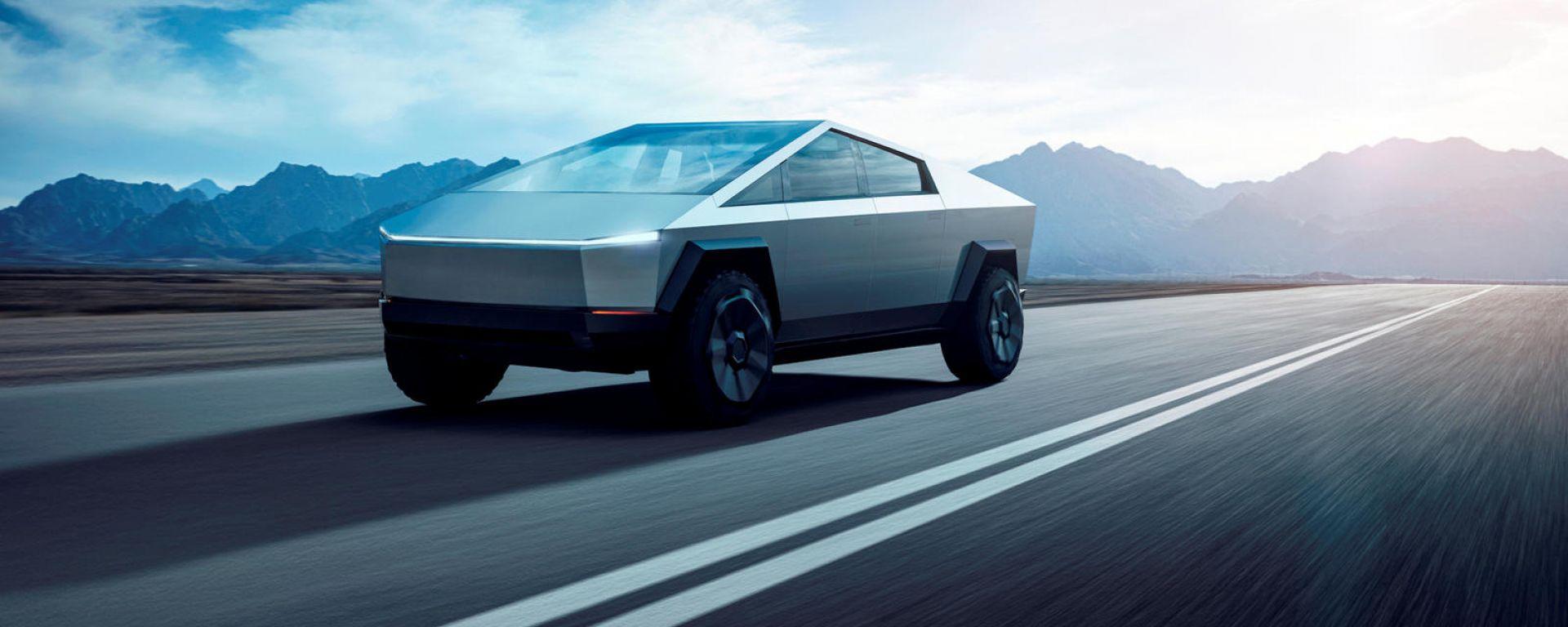 Tesla Cybertruck potrebbe scorrazzare per le strade virtuali di un videogioco?