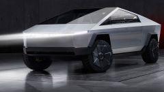 Tesla Cybertruck: vista frontale