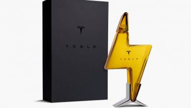 Tesla Decanter in vetro soffiato