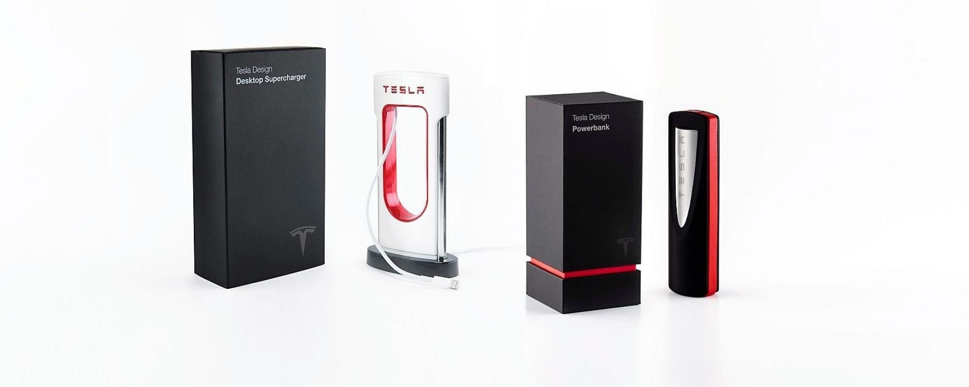 Tesla Desktop Supercharger e Tesla Powerbank