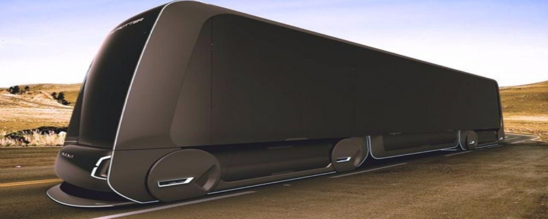 La prossima Tesla? Sarà un autotreno elettrico