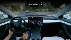 Tesla Full Self Driving 10.1 versione beta: così Musk su Twitter