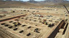 Tesla Gigafactory: lavori di sbancamento terra per le fondamenta